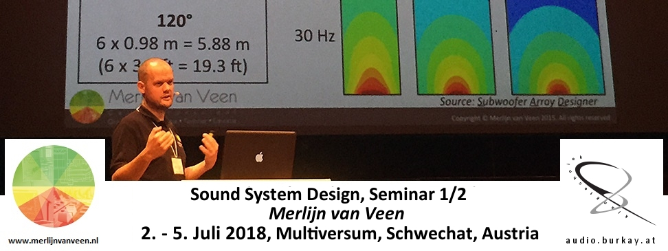 Austria - Calibration & Design Techniques for Modern Sound Systems in German @ Multiversum | Schwechat | Lower Austria | Austria
